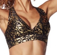 ZUMBA Find Your Shine V-Bra - ZLATÝ - 28,46 €