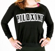 PILOXING Shoulder Vibes Sweater - ČIERNA - 24,47 €
