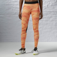 REEBOK One Series Camo Tight - ORANŽOVÉ - 33,71 €