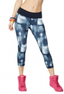 ZUMBA Hot In Here Perfect Capri Leggings - ČIERNE - 24,67 €