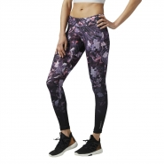 REEBOK D Shattered Glam Tight - FIALOVO-RUŽOVÉ - 38,47 €