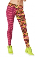ZUMBA Kingston Vibes Perfect long leggings - RUŽOVÉ - 34,97 €