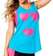 ZUMBA Only Have Eyes For You Tank - MODRÉ - 23,96 €