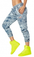 ZUMBA Let´s Escape Denim Harem Pants - MODRÉ - 32,97 €