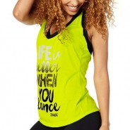 ZUMBA When You Dance Halter Tank - ZELENÉ - 18,87 €