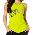 ZUMBA Zumba Love Instr. Tight Tank - ZELENÉ - 21,95 €
