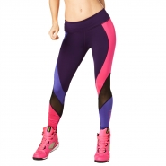 ZUMBA Tribe Mesh Long Legging - FIALOVÉ - 37,56 €