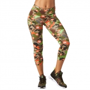 ZUMBA Party In Da Basement capri Leggings - ZELENÉ - 36,95 €