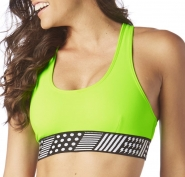 ZUMBA Yell It Out Scoop Bra - ZELENÝ - 31,95 €