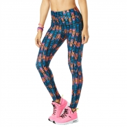 ZUMBA Lost In The Music HighWaisted Legging - MODRO-ORANŽOVÉ - 32,80 €