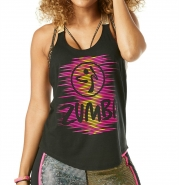 ZUMBA Get Up and dance Tank - ČIERNE - 25,95 €