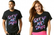 ZUMBA Get Up and Dance Instr. Tee - ČIERNE - 17,95 €