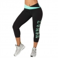 ZUMBA Dance Like a Boss Crop Leggings - ČIERNE - 43,95 €
