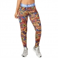 ZUMBA Power Long Leggings - ČERVENO-MODRÉ - 43,95 €