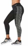 ZUMBA Slay All Day Crop Legging - ČIERNE - 29,22 €