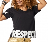 ZUMBA Respect Crop Top - ČIERNE - 29,95 €