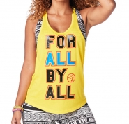 ZUMBA For All Tank - ŽLTÉ - 29,95 €