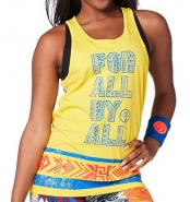 ZUMBA For All Instr. Tank - ŽLTÉ - 23,95 €