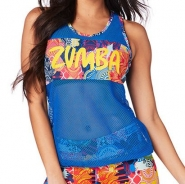 ZUMBA More Zumba Bubble Tank - MODRÉ - 35,95 €
