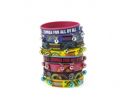 ZUMBA For All Rubber Bracelets (8 ks) - 9,00 €