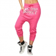 ZUMBA Hip Hop Honey Harem Pants - RUŽOVÉ - 48,95 €