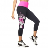 ZUMBA Dance Bold Highwaisted Instructor Crop Legging - ČIERNE - 45,95 €