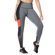 ZUMBA Don´t Miss a Beat Highwaisted Legging - ČIERNO-ŠEDÉ - 68,95 €