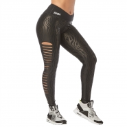 ZUMBA Happiness Slashed Ankle Leggings - ČIERNE - 52,95 €