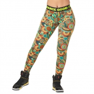 ZUMBA Feel Good Dance Good Long Legging - ZELENÉ - 44,95 €