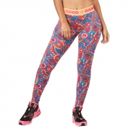 ZUMBA Feel Good Dance Good Long Legging - RUŽOVÉ - 35,96 €