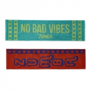 ZUMBA No Bad Vibes Fitness Towels (2 ks) - 18,95 €