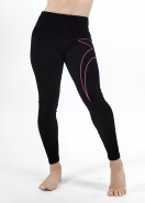 PILOXING Get It Pink X Legging - ČIERNE - 59,95 €