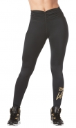 ZUMBA Love Ruched Highwaisted Legging - ČIERNE - 53,95 €