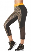 ZUMBA Be About Love Panel Capri Legging - ZELENÉ ARMY - 45,95 €