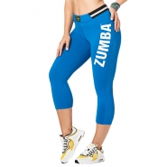 ZUMBA All Star Highwaist Capri Legging - MODRÉ - 39,96 €