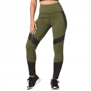 ZUMBA Don´t Mesh With Me Highwaisted Ankle Legging - ZELENÉ ARMY - 61,95 €