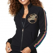 ZUMBA Zumba Keep Dancing Zip-Up Jacket - ČIERNA - 53,95 €