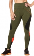 ZUMBA Train To The Beat Highwaisted Ankle Legging - ZELENÉ ARMY - 59,95 €