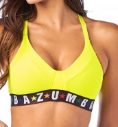 ZUMBA Dance League Bra - ŽLTÝ - 37,95 €