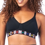 ZUMBA Dance League Bra - ČIERNY - 37,95 €
