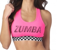 ZUMBA Better Faster Scoop Bra - RUŽOVÝ - 38,95 €