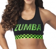 ZUMBA Better Faster Scoop Bra - ČIERNY - 38,95 €