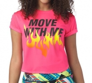 ZUMBA Move With Instructor Top - RUŽOVÉ - 29,95 €