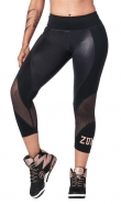 ZUMBA Dance Tribe Panel Crop Legging - ČIERNE - 49,96 €