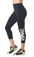 ZUMBA Forever Highwaisted Crop Legging - ČIERNE - 42,95 €