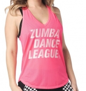 ZUMBA Dance League Mesh Tank - RUŽOVÉ - 34,96 €
